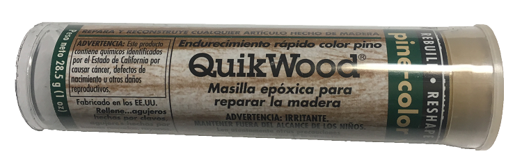 Quickwood, Epoxy Putty Stick, Pine, 3.5 inch long