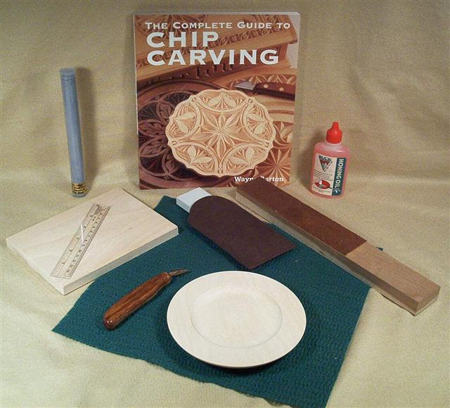 Beginner chip carving set