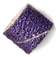 Band Sanding Purple Ceramic 80 Grit 1/2 inch Dia. 1/2 inch Long Package of 10