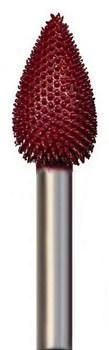 Flame Typhoon Coarse (red) Grit 5/8 inch Dia. 1 1/16 inch Long 1/4 inch Shank