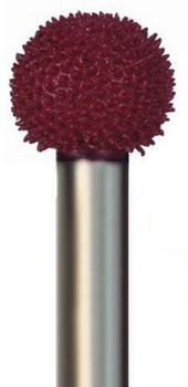 Sphere Typhoon Coarse (red) Grit 9/16 inch Dia. 1/4 inch Shank
