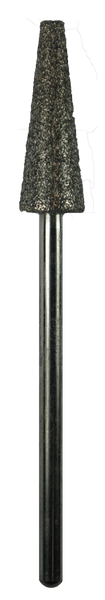 Taper Flat Top Sapphire 0.24 inch Dia. 0.71 inch Long 3/32 inch Shank
