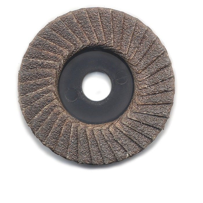 Flap Sander Disc 2 Inch dia. X 3/8 Inch Arbor Hole 60 grit 5 pack - A-2201-5