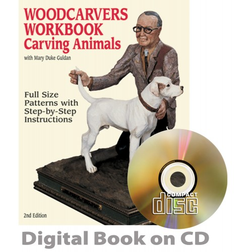 Woodcarver's Workbook #1 - Carving Animals (CD)