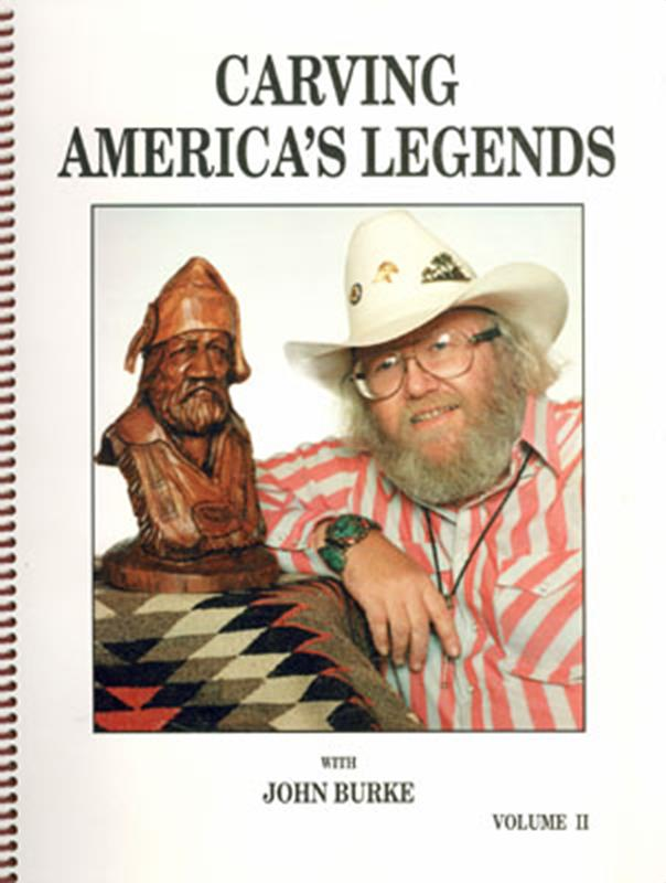 Carving America's Legends by John Burke.