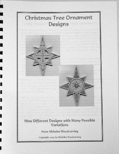 Christmas Tree Ornament Designs (Star Patterns)