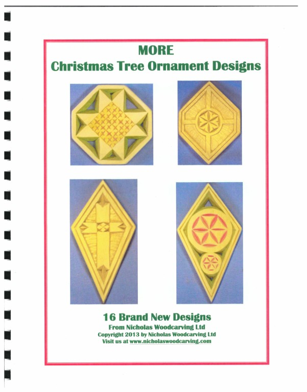 More Christmas Tree Ornament Designs