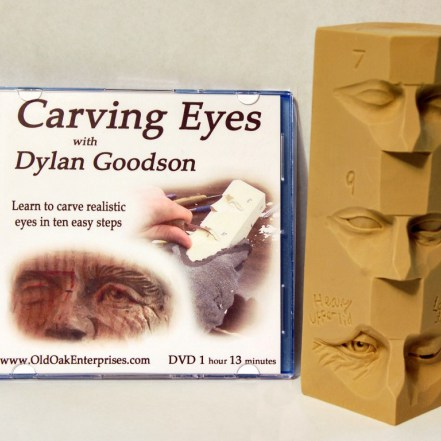 Eye Carving - DVD and Study Stick Combo