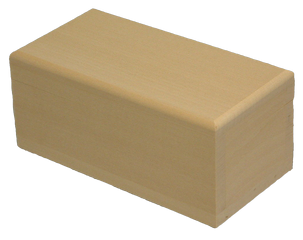 Box Rectangle with Round Edge 7 x 3 1/2 x 3 inch