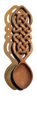 Spoon Small Celtic Knotwork Basswood
