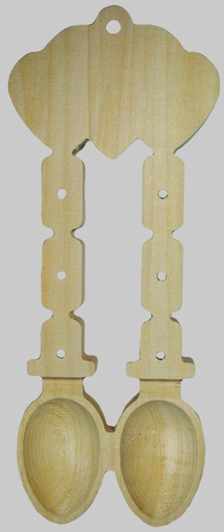 Spoon Double Chain Basswood