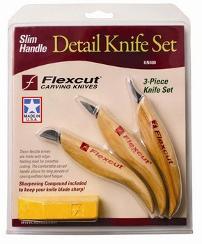 Set Detail Knife Slim Handle KN400