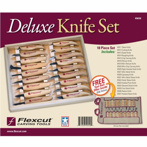Set Knife Deluxe KN250