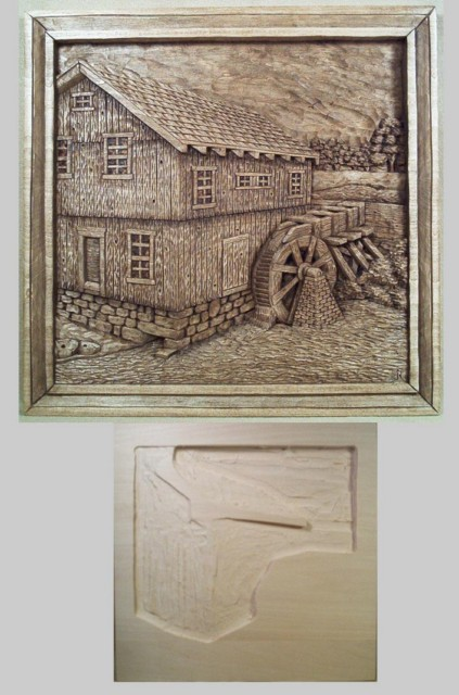 Roughout Relief Smethport Mill