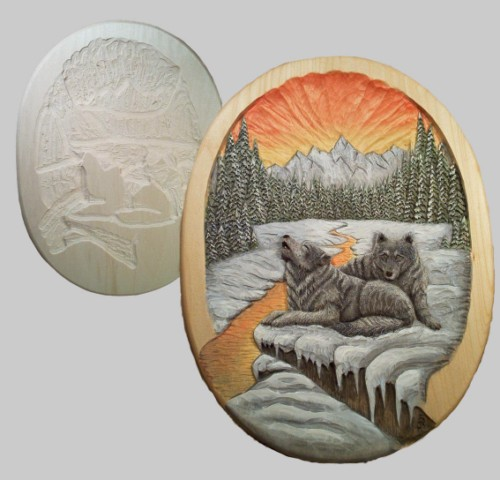 Roughout Wolves Relief