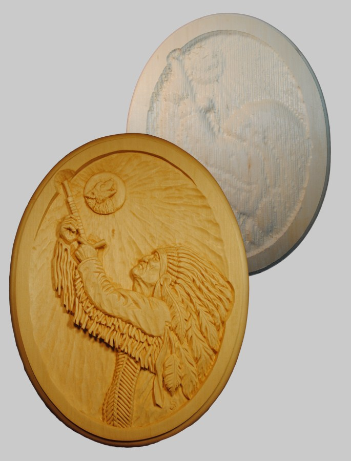 Roughout Relief Wolf Moon
