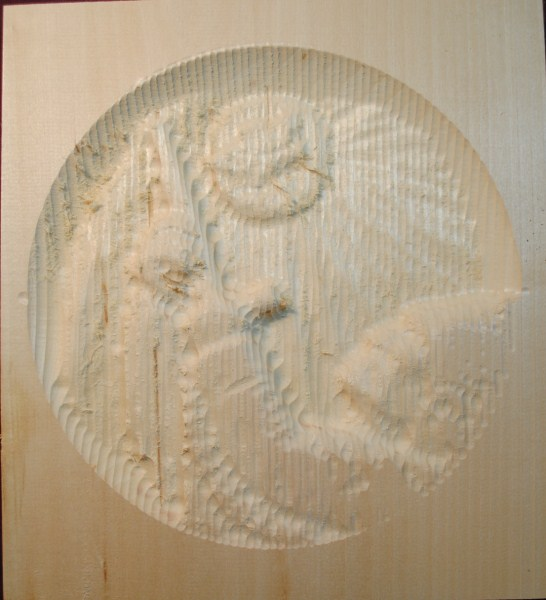 Roughout relief wolf moon partial