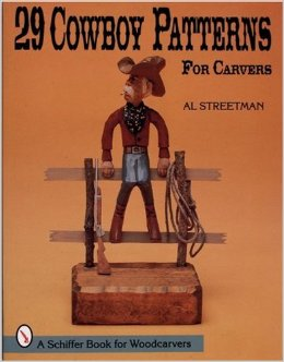 29 Cowboy Patterns for Carvers