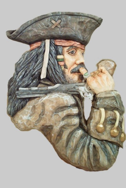Pattern Relief Pirate Small