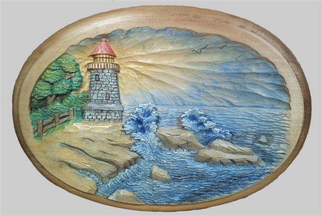 Pattern Relief Lighthouse 8