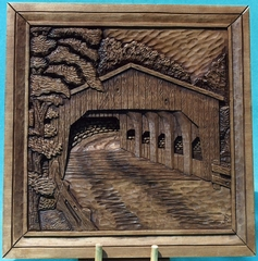 Pattern Relief Covered Bridge 2