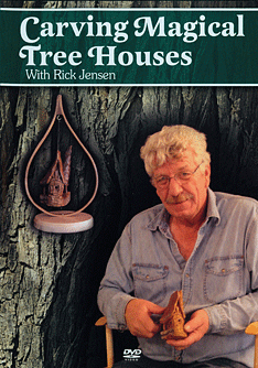 DVD-Carving a Magical Tree House in Bark