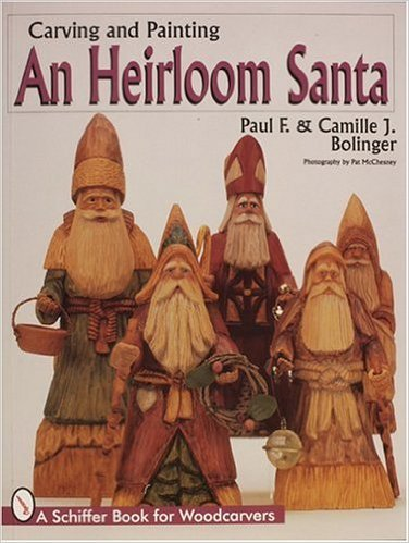 Carving & Painting An Heirloom Santa