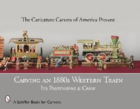 Carving an 1880s Western Train