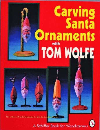 Carving Santa Ornaments with Tom Wolfe