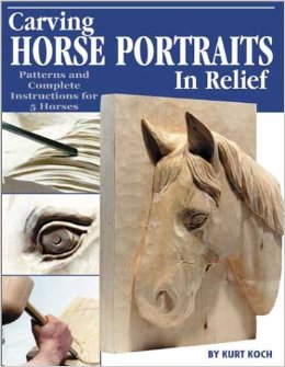 Carving Horse Portraits in Relief - Patterns and Complete Instructions for 5 Horses