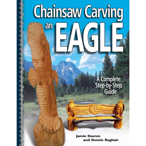 Chainsaw Carving an Eagle