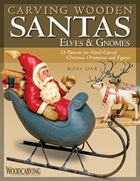 Carving Wooden Santas Elves Gnomes