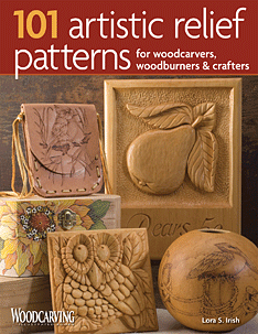 101 Artistic Relief Patterns for Woodcarvers Woodburners & Crafters