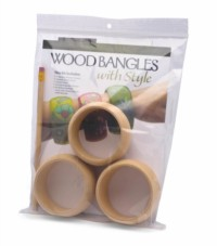 Wood Bangles with Style Kit
