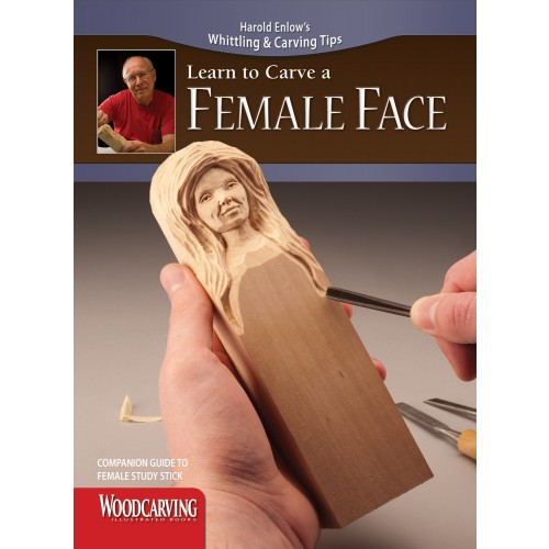 Learn to Carve a Female Face