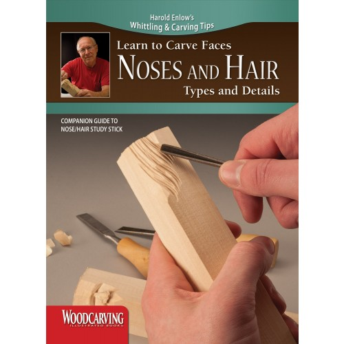 Learn to Carve Faces: Noses and Hair