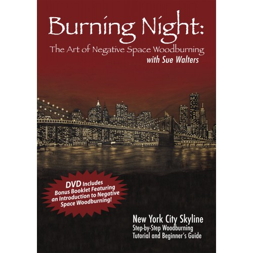 DVD-Burning Night: The Art of Negative Woodburning