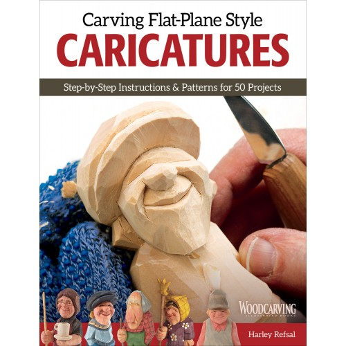 Carving Flat Plane Style Caricatures
