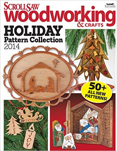 Scroll Saw Woodworking & Crafts Holiday Pattern Collection 2014