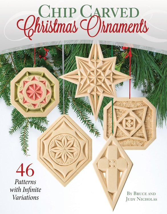 Chip Carved Christmas Ornaments