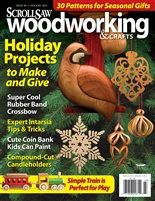Scroll Saw Woodworking & Crafts - Issue 49 - Holiday 2012