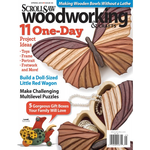 Scrollsaw Woodworking Issue 54 Spring 2014