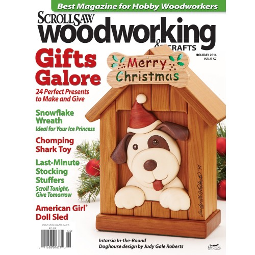 Scrollsaw Woodworking Issue 57 Holiday 2014