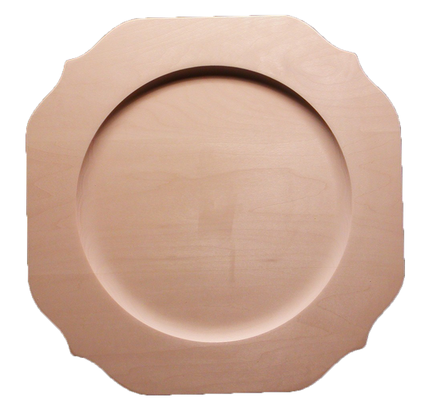 Scalloped Square Plate