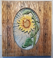 Pattern, Relief, Sunflower 1