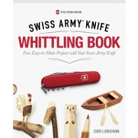 Swiss Army Knife Whittling Book, Hard Cover