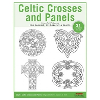 Celtic Crosses Carving Patterns