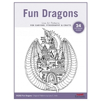 Fun Dragons Carving Patterns