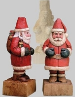 Roughout Santa Claus Traditional