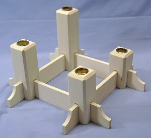 Advent Candle Stand